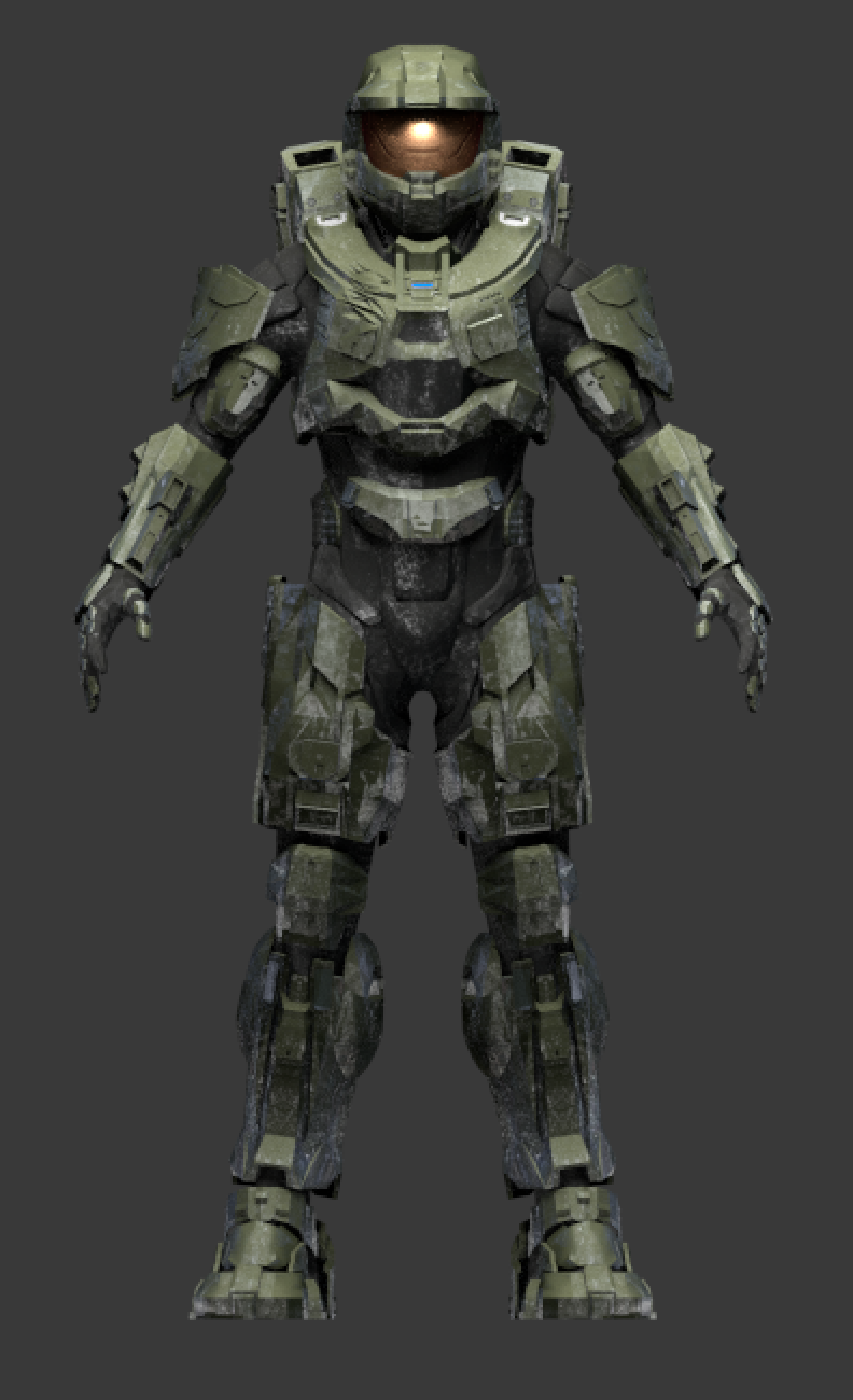 Halo 4 3d models download