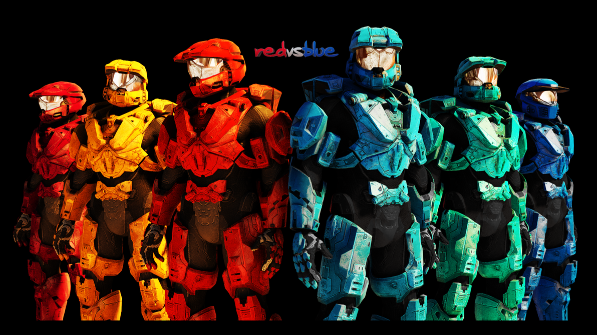 RvB Wallpaper by Mattpc