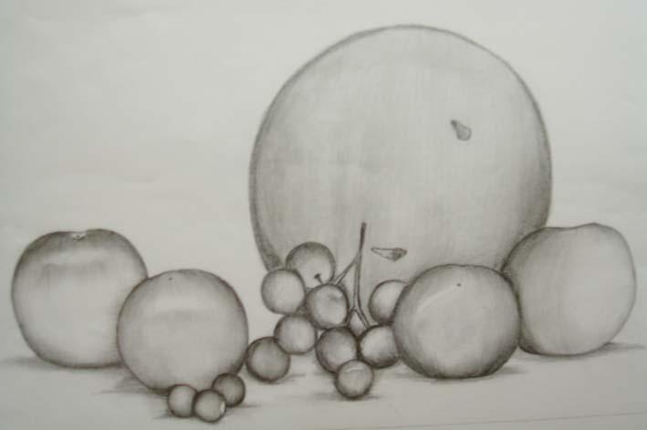 Lukisan Buah Buahan Tempatan Menggunakan Pensil Cikimm Com
