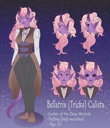 Tiefling DnD Character