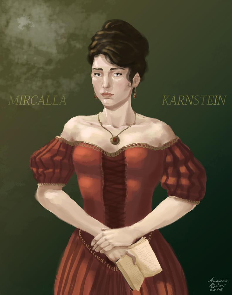 Mircalla Karnstein (1698) by AnnamariaBalov
