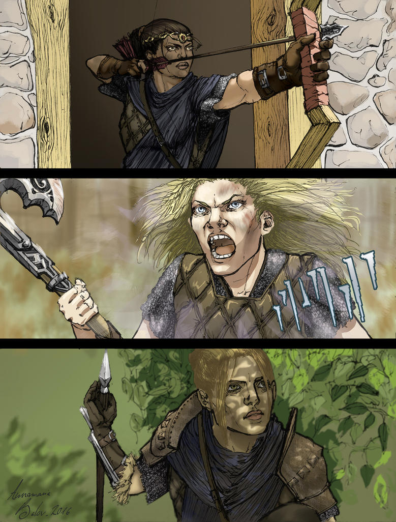 Unholy Trinity Skyrim Verse by Paperclip-freak