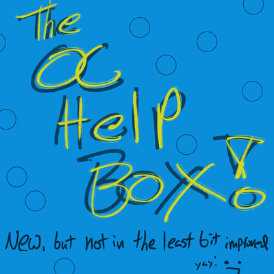 The OC Help Box by TheGiantMudCrab