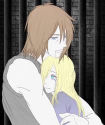 Daryl and Beth scene by RoxyRocz