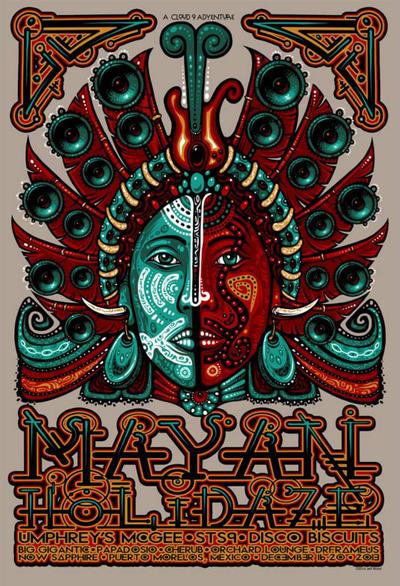 Mayan Holidaze 2013 by ZenMysticStudio