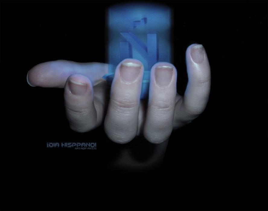 Holograma.Dia.Hispano by RataDP