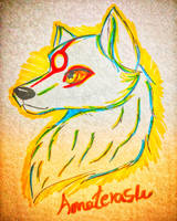 Touch Markers Amaterasu by CarameliaBriana