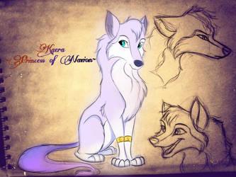 Princess Kaera concept art by CarameliaBriana
