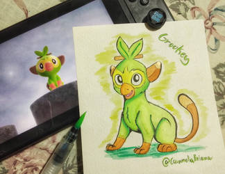 Watercolor GROOKEY! by CarameliaBriana