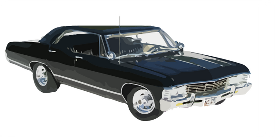 Chevy Muscle Cars >> The Impala Vector by Wibsies on DeviantArt