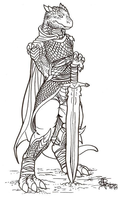 female dragonborn coloring pages - photo#16