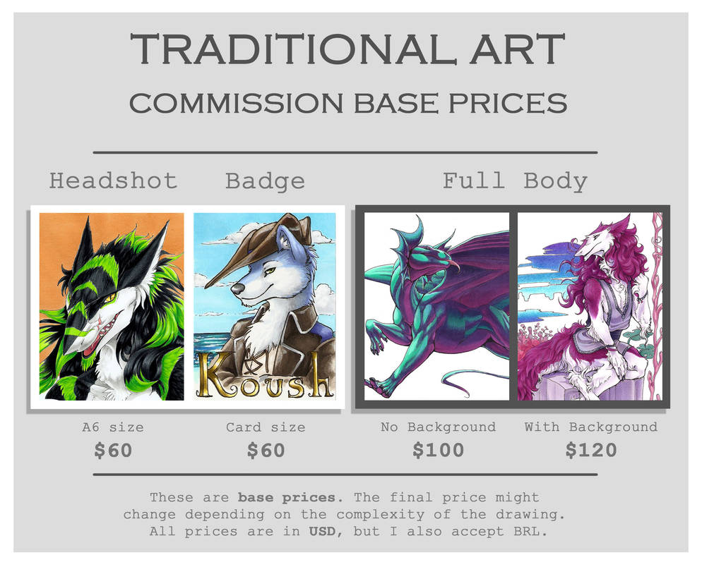 Traditional Art prices by FlamSlade