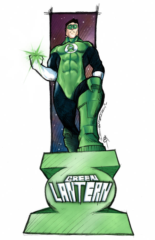 Green Lantern by toxicadams