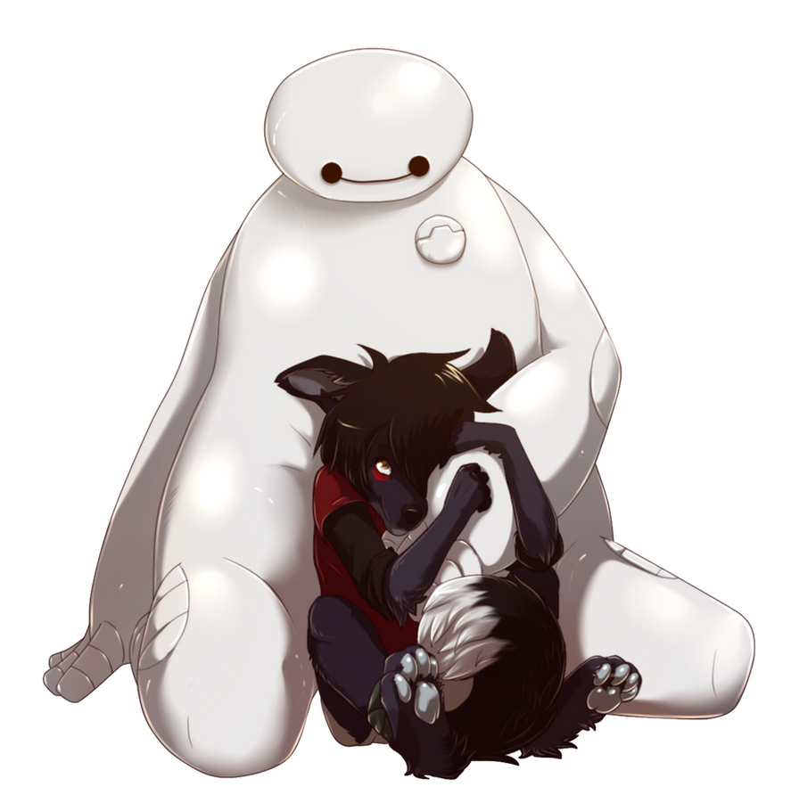 Hiro and Baymax by Hone-Jasere