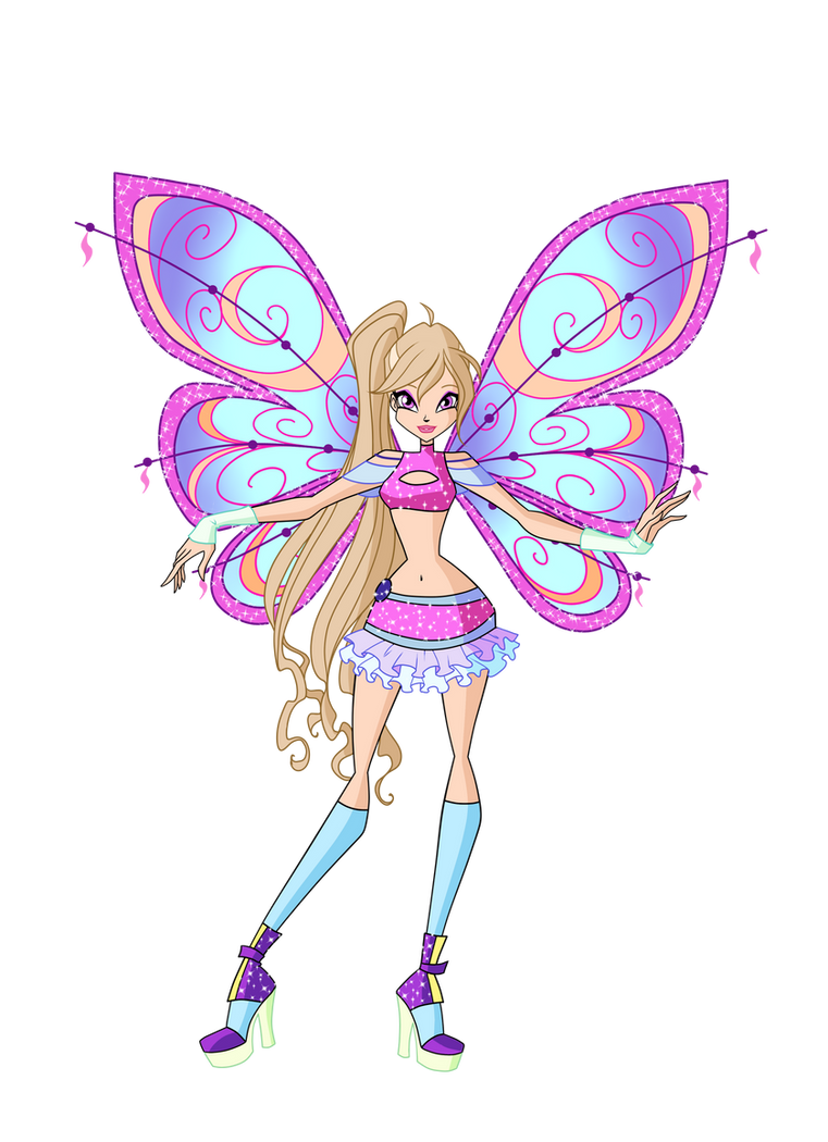how to draw winx club characters