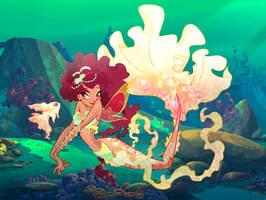 Sonya Mermaid by Other-Fairies