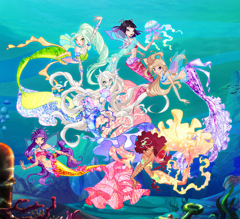 Other Fairies Mermaids By Other-Fairies On DeviantArt