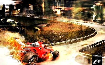 F1 Singapore Night Race by rafie88