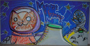 Mooncat and Fishship