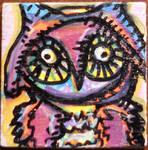 2 inch owl pin