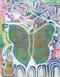 Butterflies Artjournal Spread 1