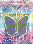 Butterflies Artjournal Spread 2