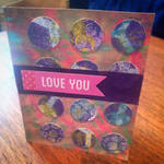 LOVE YOU -card