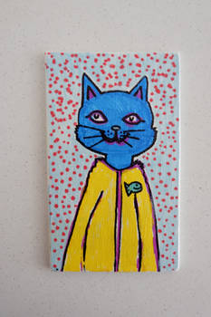 cute blue cat