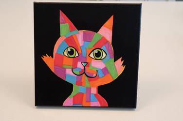 patchwork cat