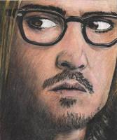 Johnny Depp - Mort Rainey by Menco