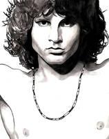 Jim Morrison WIP by Menco