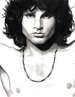 Jim Morrison by Menco
