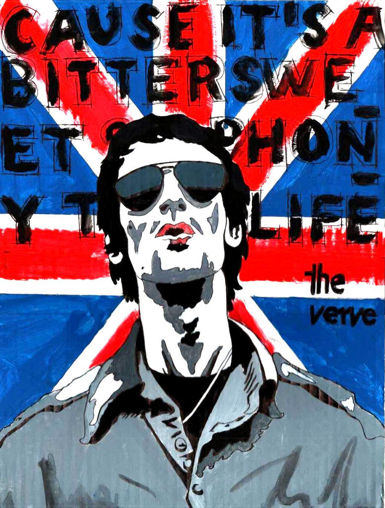 Richard Ashcroft by Menco