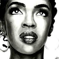 Lauryn Hill by Menco