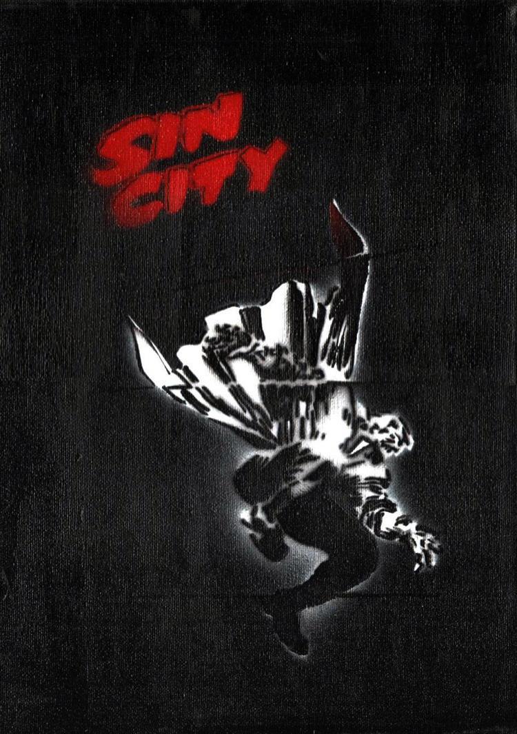 sin city wallpaper marv