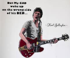 Noel Gallagher by Menco