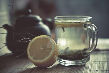Green tea by CuCat
