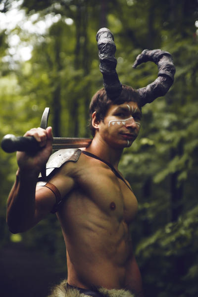 forest warrior by CuCat