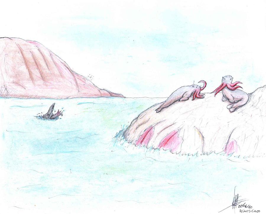 paisaje polar by deinoscaos