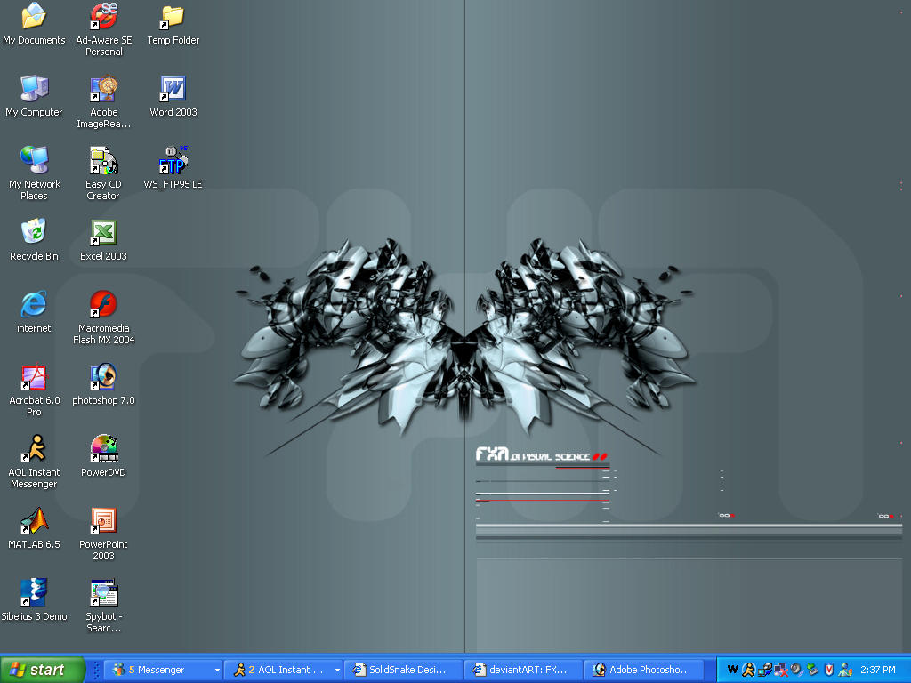 My Desktop by beam1