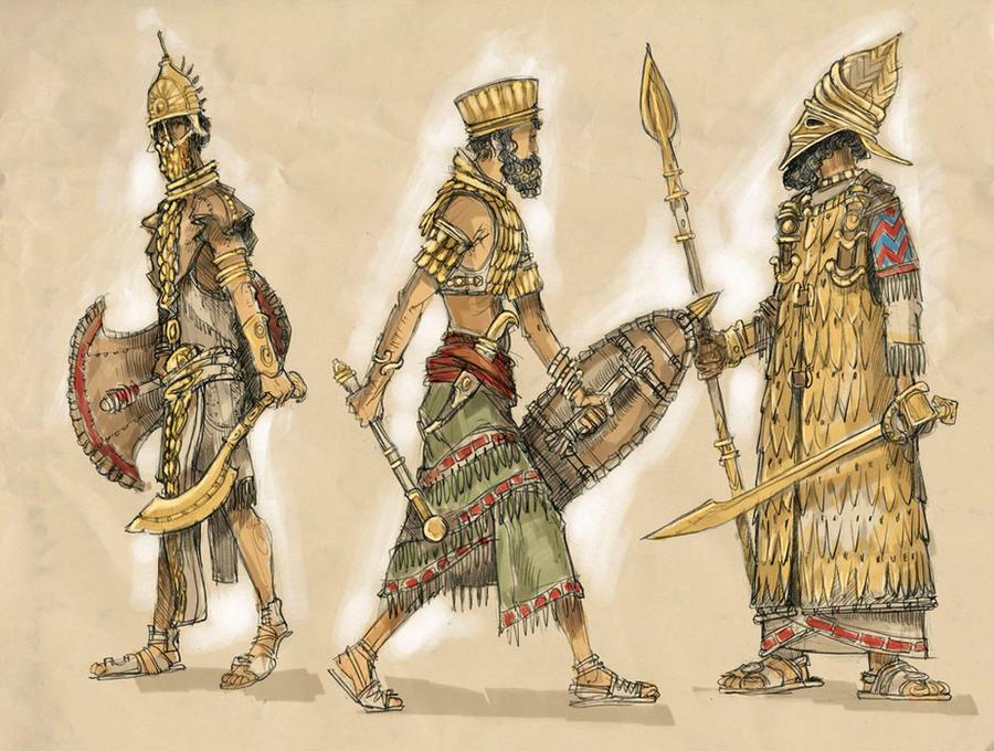 Sanskitar Fighters Sketch by KonradV