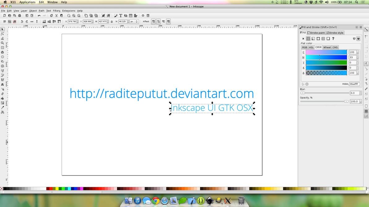 Smooth Inkscape UI GTK OSX by raditeputut