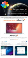 Ubuntu Jogja Poster - windows xp end support by raditeputut