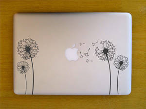 Decal Sticker MacBook Pro NonRetina DadelionFlower
