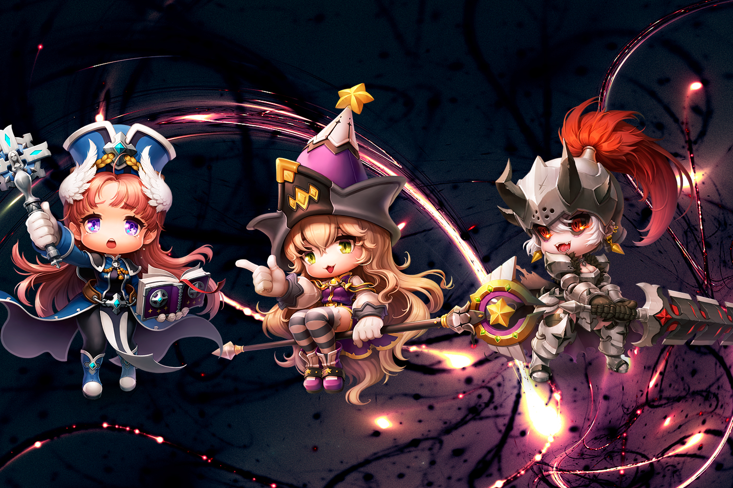Maplestory 2 Preist Wizard Berserker Wallpaper By 77silentcrow On Deviantart