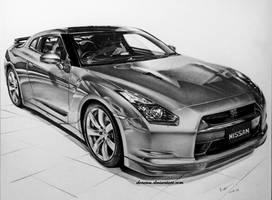 Nissan Skyline Gt-r by donescu