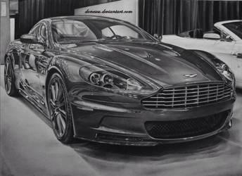 Aston Martin auto show by donescu