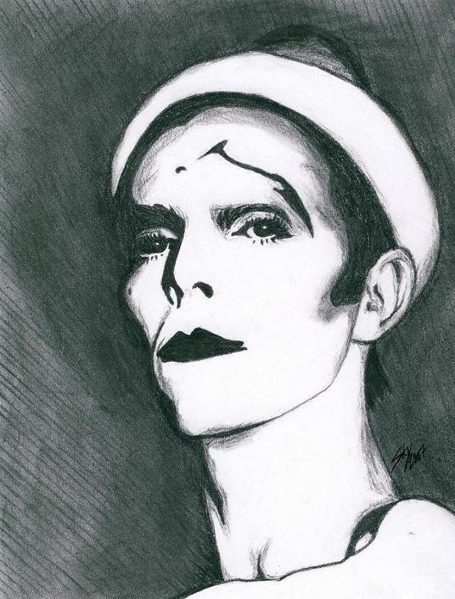David Bowie by SSkyborg