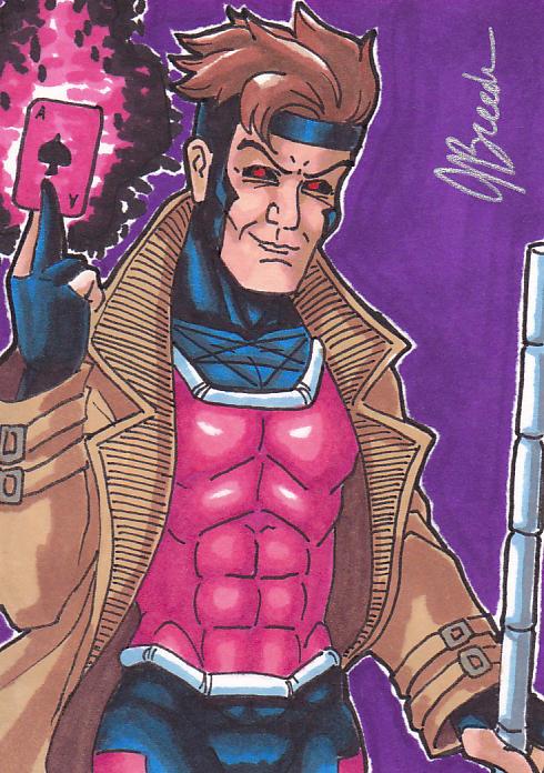 Sketch Card 184 - Gambit