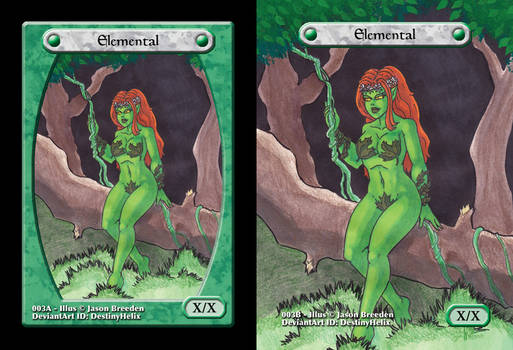 Custom Magic Token #3 - Earth Elemental